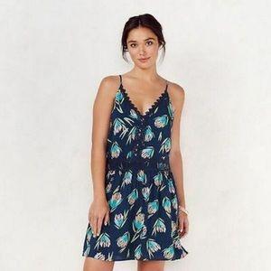 Flirty Lauren Conrad Swept Ashore Lace Trim Dress